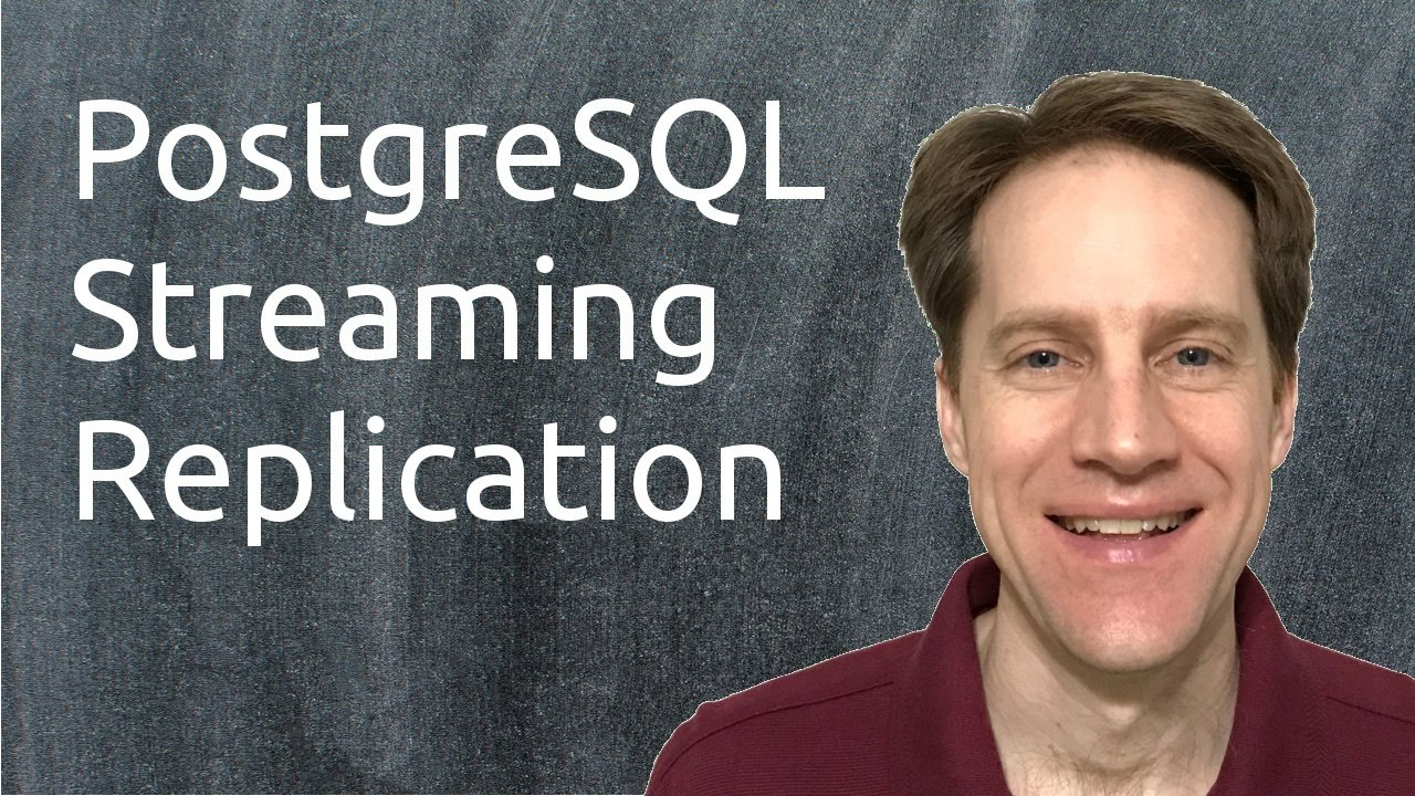 Postgresql streaming replication